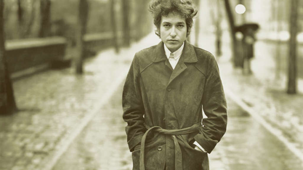 """The Times they are a-changing"" – Die Zeiten ändern sich: Bob Dylan 1965 als junger Musiker in New York. Foto: dpa/Columbia Records"