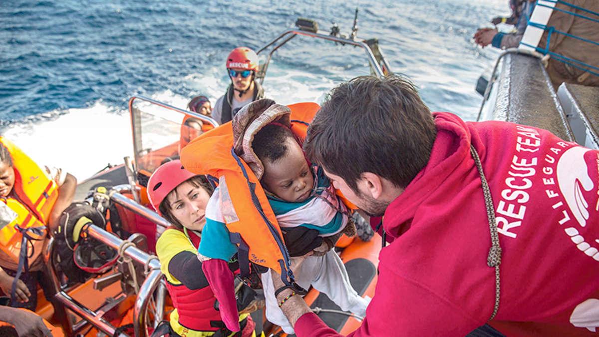 Flüchtlingskrise Mittelmeer