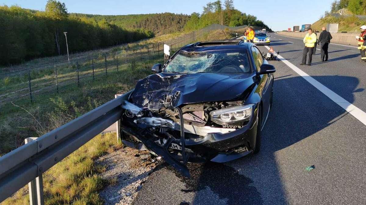 Tödlicher Unfall A4
