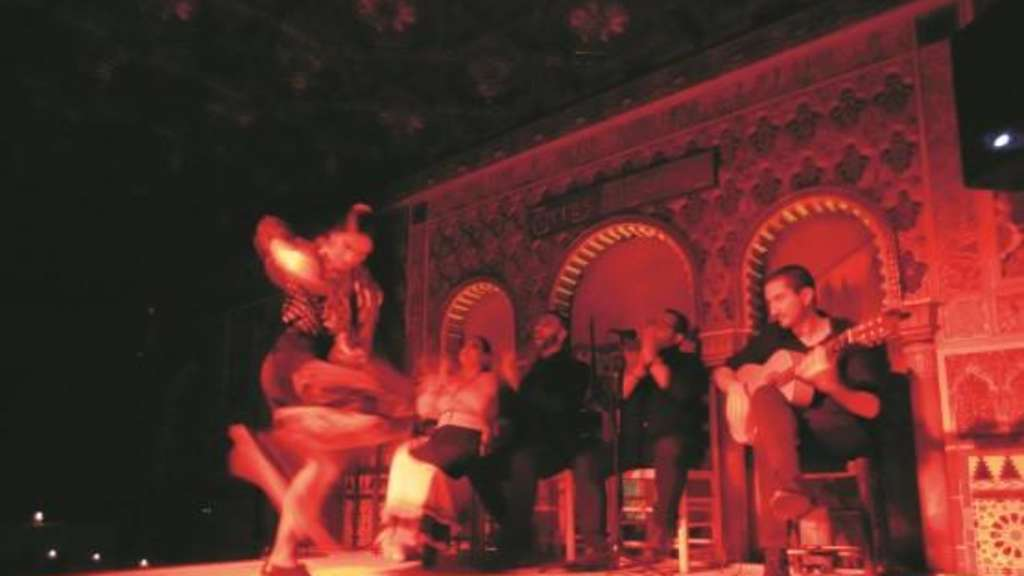 flamenco bar madrid