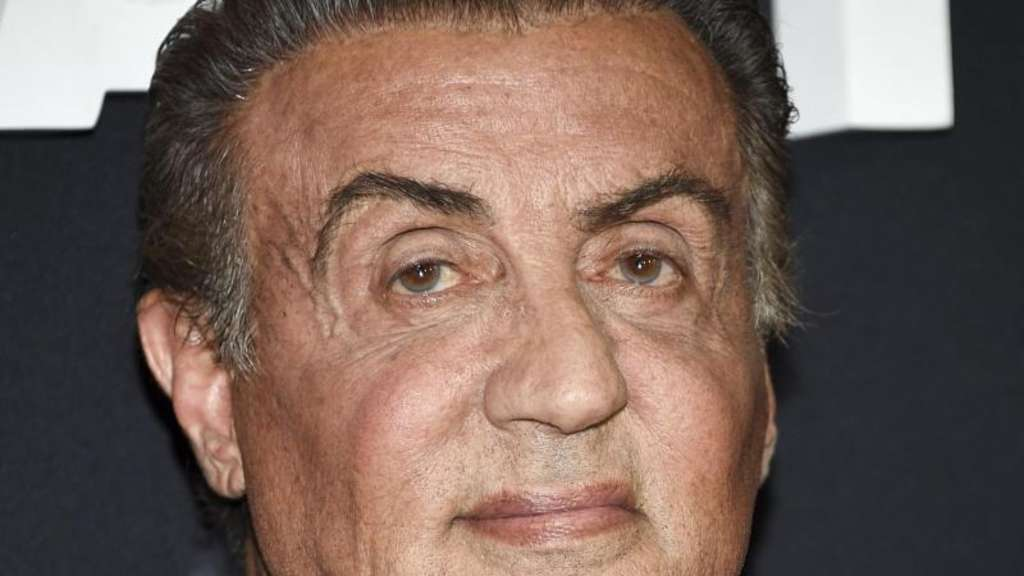 Sylvester Stallone zeigt