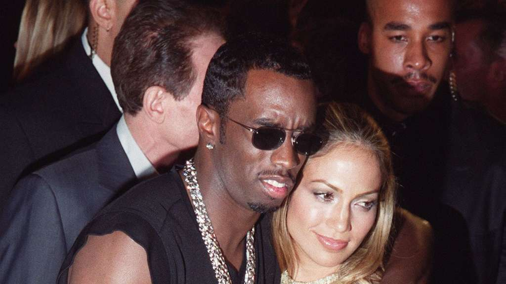 Jennifer Lopez und P. Diddy 1999 auf den MTV Video Music Awards.