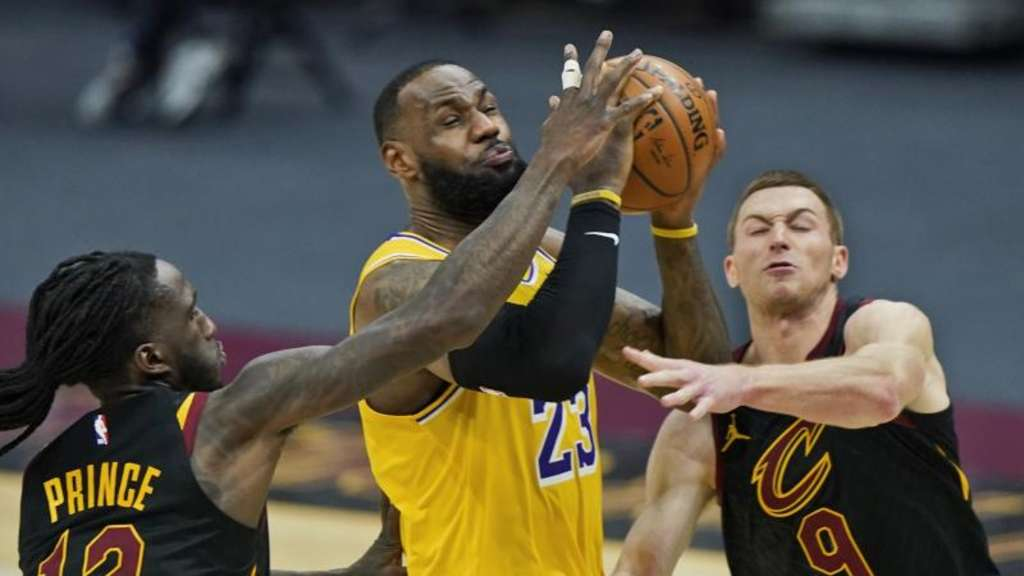 NBA: Lakers-Star LeBron James mit 46 Punkten